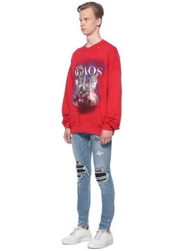 Amiri Sweatshirt Kırmızı